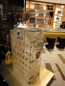 Présentoir Malle Louis Vuitton